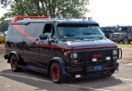 GMC's Iconic Vandura as The A Team's Van
