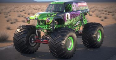 Grave Digger, the Famous Monster Truck